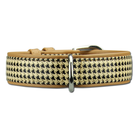 Collier cuir Artleather Coco's Choice Beige/Beige