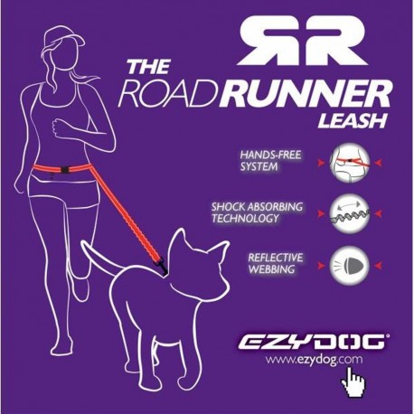Laisse Ezydog Road Runner