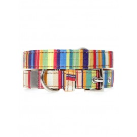 Collier Urban Pup Henley Striped
