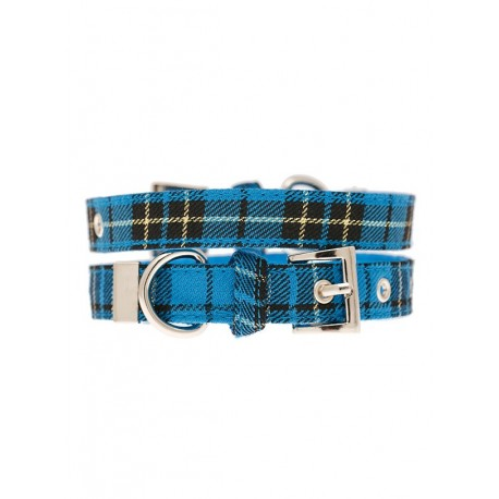 Collier Urban Pup Tartan Fabric