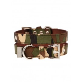 Collier Urban Pup Camouflage Fabric
