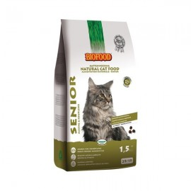 Croquettes chat 100% naturelles Biofood Adult Senior