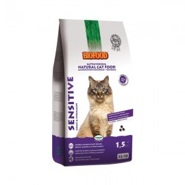 Croquettes chat 100% naturelles Biofood Adult Sensitive