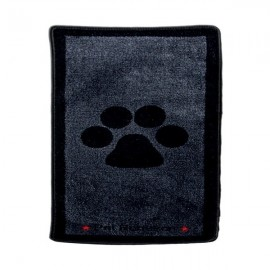 Tapis d'Entrée Noir et Gris XL Big Paws Pet Rebellion