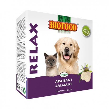 "Friandises ""Relax"" Biofood pour chiens et chats"