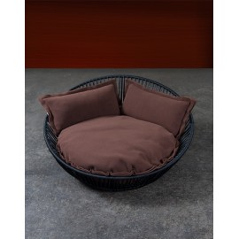 Corbeille avec coussin SIRO SALEEN® BLACK