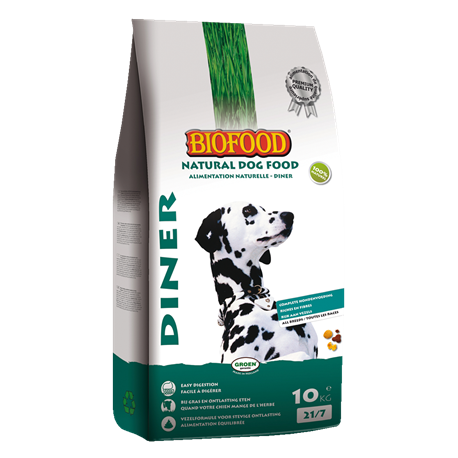 Croquettes chien Diner light Biofood