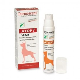 Dermoscent ATOP 7 spray - Emulsion calmante pour chien