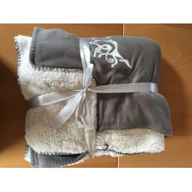 Couverture fleece Sherpa