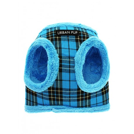 Harnais fourré Urban Pup Luxury Fur Lined Tartan