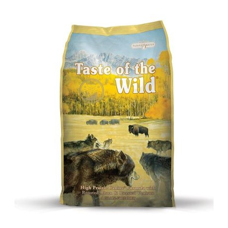 Croquettes Taste of the Wild High Prairie Canine- sac de 13kg