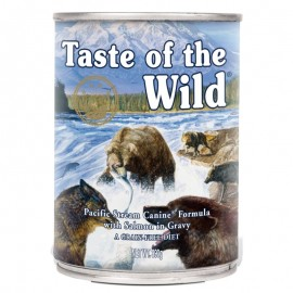 Taste of the Wild Pacific Stream Canine au Saumon Fumé en Sauce pour chien