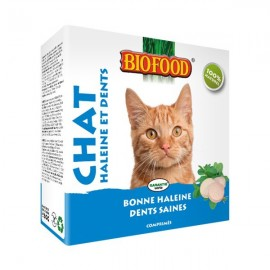 "Friandises ""Haleines et dents"" Biofood pour chats - DLUO DEPASSEE"