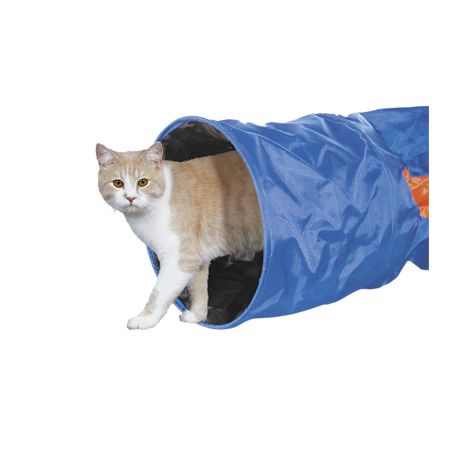 Tunnel pour chat nylon crunch 115*30cm