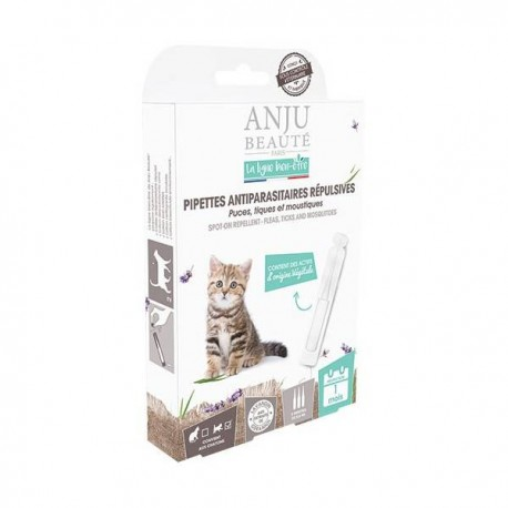 Pipettes antiparasitaires chatons ANJU