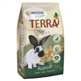 Aliment complet TERRA Lapin - DESTOCKAGE DLUO COURTE