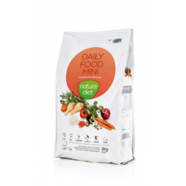 Croquettes chiens poulet NATURA DIET DAILY FOOD MINI