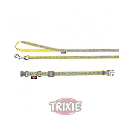 Collier avec laisse Yellow Candy