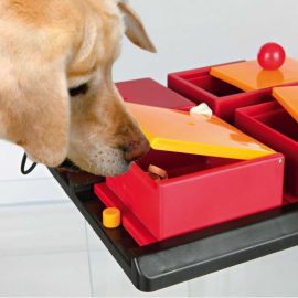 Jeu de réflexion Trixie Dog Activity Poker Box 1