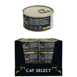Cat Select Tartare de Thon et Poisson Blanc