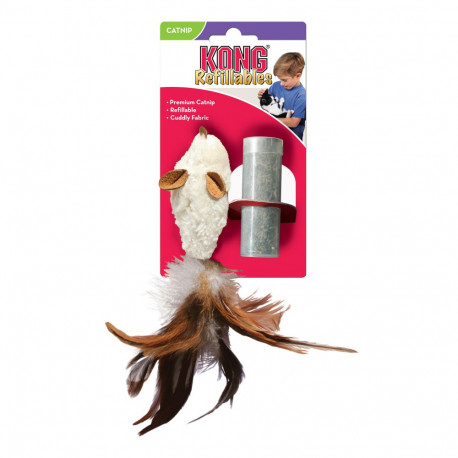 KONG Refillables Feather Mouse - Disponible chez Animalerie.Store