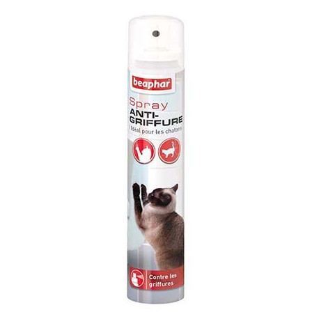 Spray anti-griffures chat 1252 ml Beaphar - Disponible chez Animalerie.Store