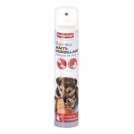 Spray anti-mordillements chien 125 ml Beaphar - Disponible chez Animalerie.Store