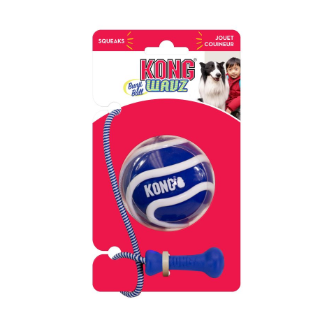 KONG Wavz Bunjiball - Disponible en magasin Animalerie.Store ou sur le site 42160