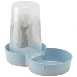 Distributeur d'eau ou de croquettes pour chat CAT DREAM disponible chez Animalerie.Store
