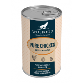 Boites CHICKEN WOLFOOD