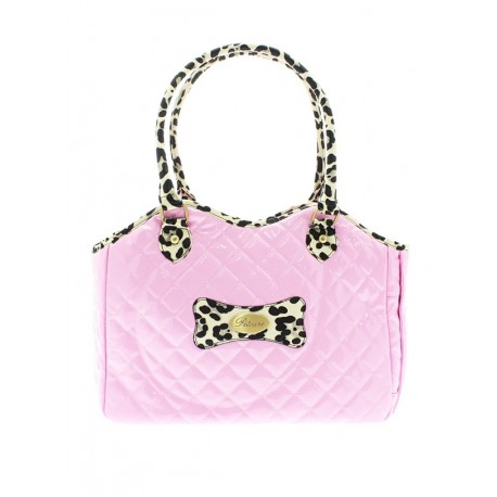 Sac de transport PATENT PINK PET CARRIER