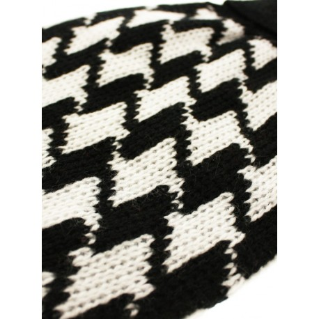 Pull tricoté HOUNDSTOOTH SWEATER