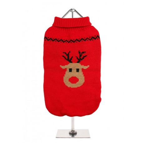 Pull tricoté RUDOLPH'S RED SWEATER
